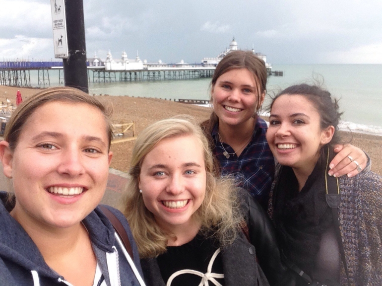 Rainy days in Eastbourne